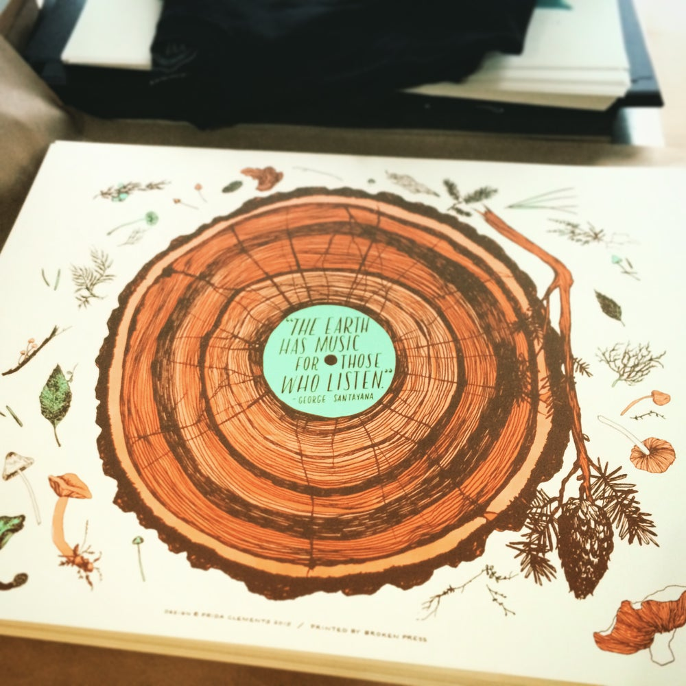 Image of Forest LP / Art Print
