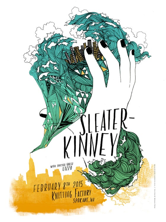 Image of Sleater-Kinney / February 8 / Spokane, WA