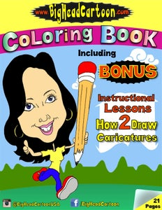 Image of HOW 2 DRAW COLORING BOOK (Signed Physical Copy)