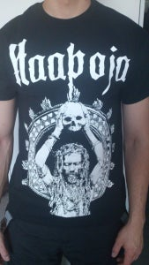 Image of T-shirt with Haapoja cover art
