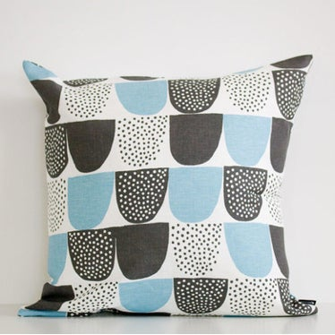 Image of Kauniste - Sokeri cushion cover - blue (aqua)