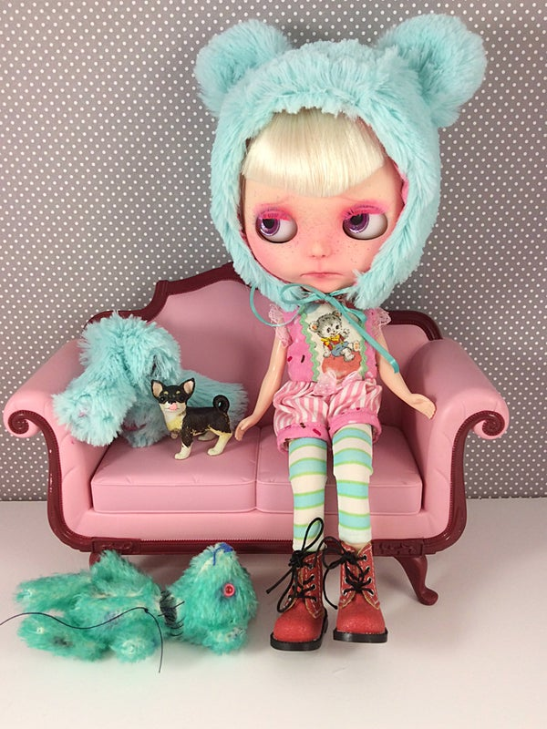 Image of OOAK Custom Blythe by Becky Gould : A Date w/ Blythe Auction