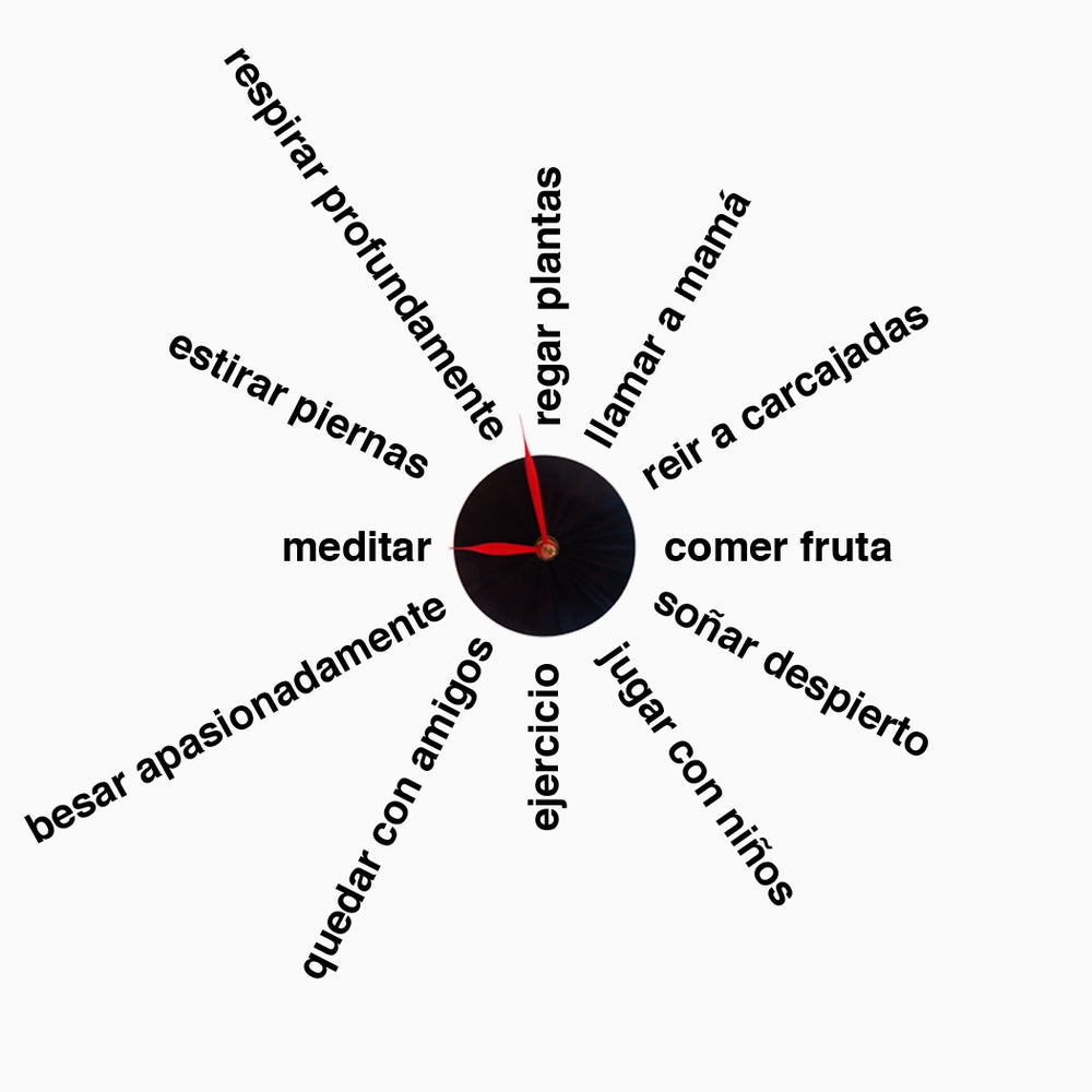 Wellness Clock