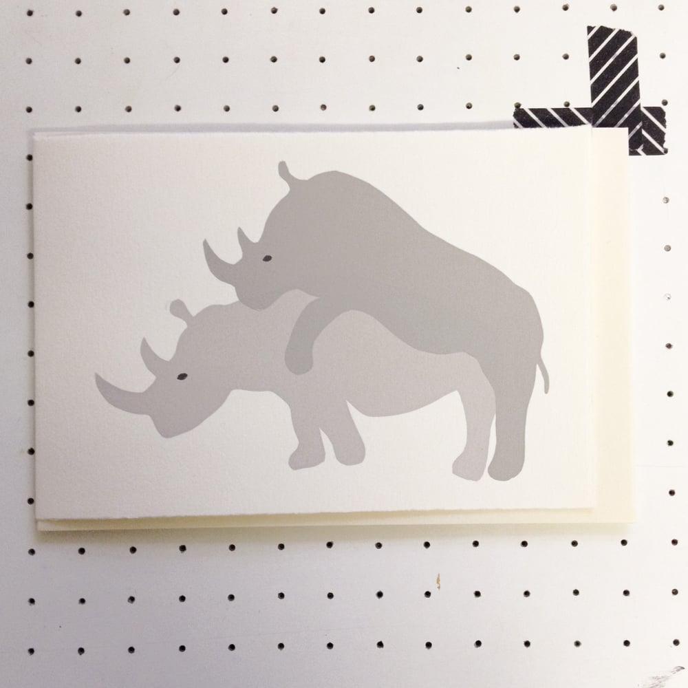 Image of Romantic Rhino