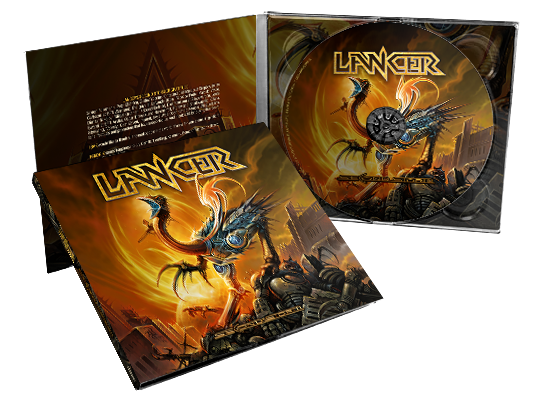 Image of Lancer - Second Storm (CD Digipak)