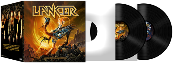 Image of Lancer - Second Storm (2xLP)
