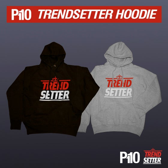 Image of Black/Grey #TrendSetter Hoodie