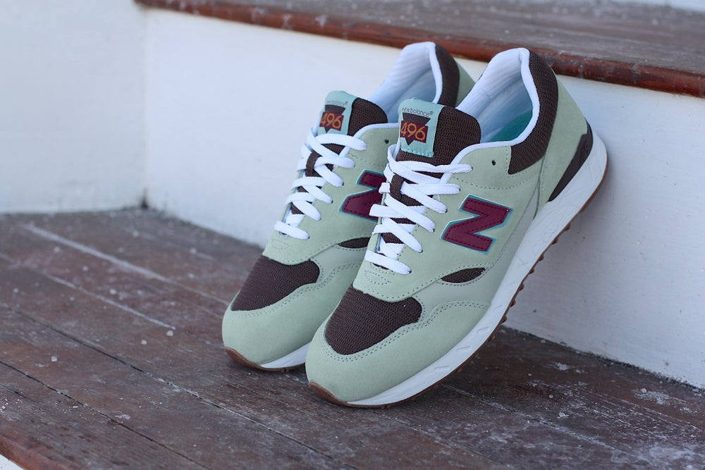 Image of NEW BALANCE 496 JAVA SEAFOAM CM496UO2