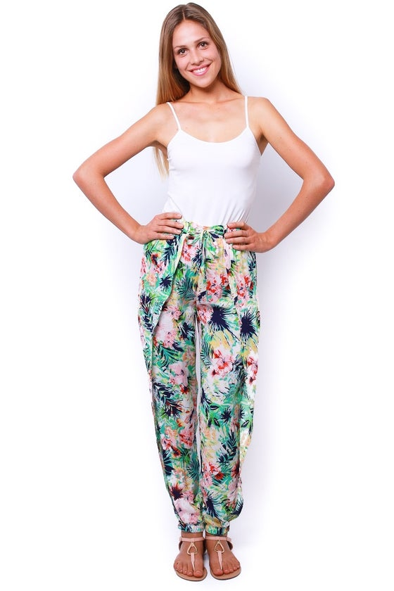 Image of Hibiscus Pants