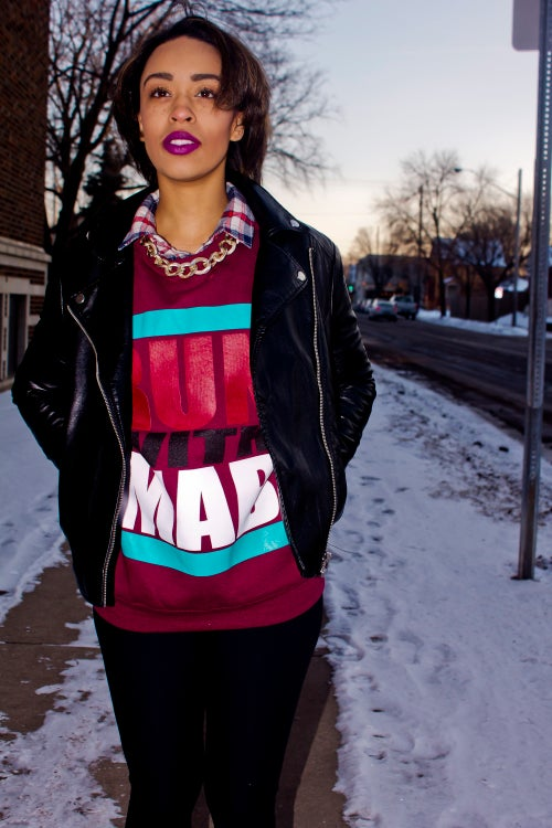 Image of RUN WITH MAB CREW NECK SWEATERS