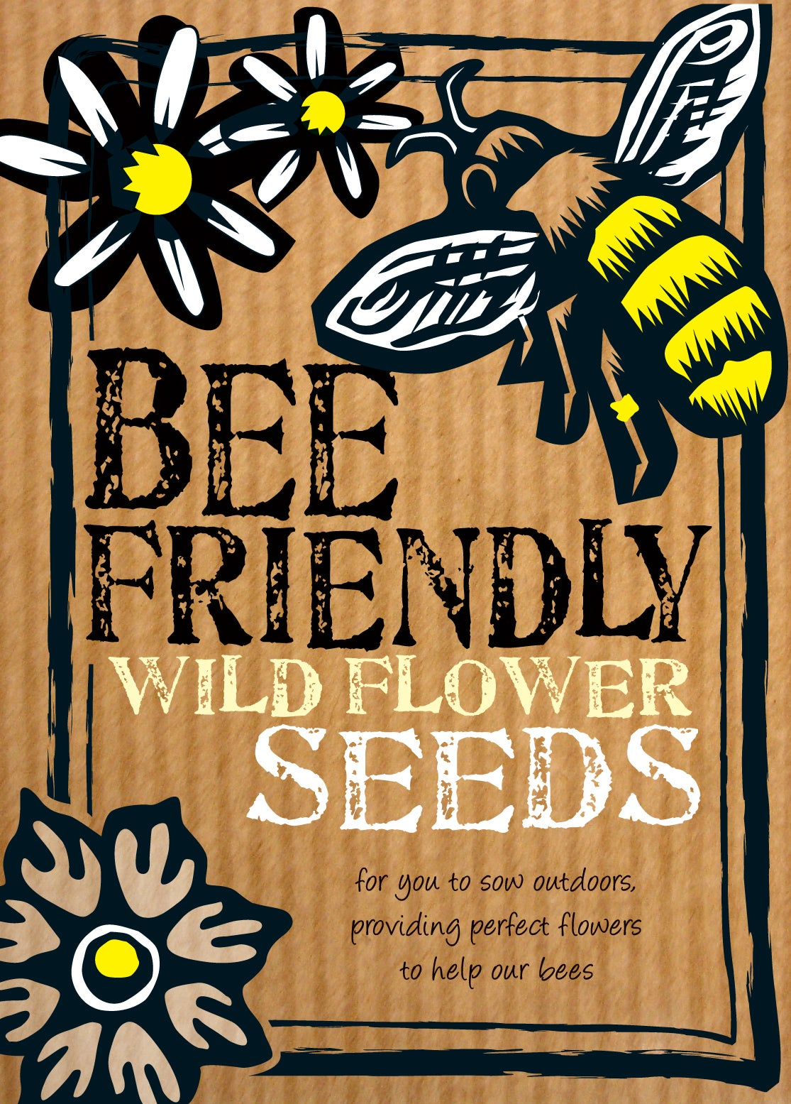 Image of Bee Friendly Wildflower Seeds (£3.00 including VAT)