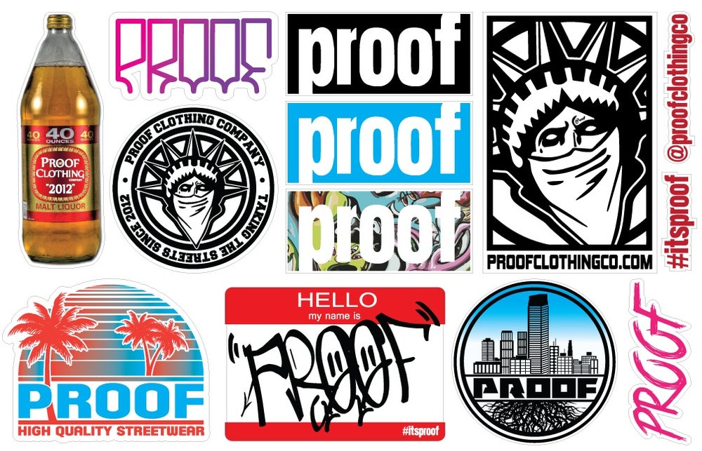 Image of Assorted Sticker Packs