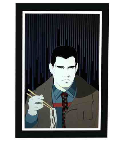 "Image of Blade Runner ""Deckard"" original painting"
