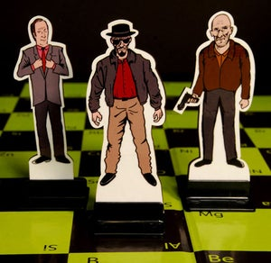 Image of Breaking Bad Chess Set