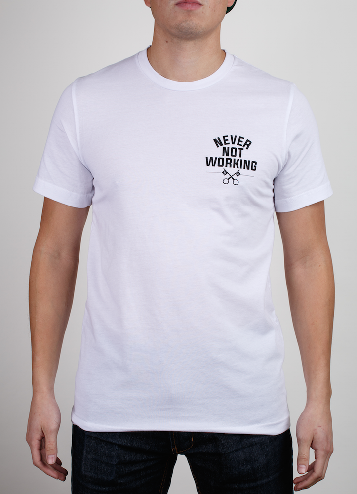 Image of Never Not Working Tee