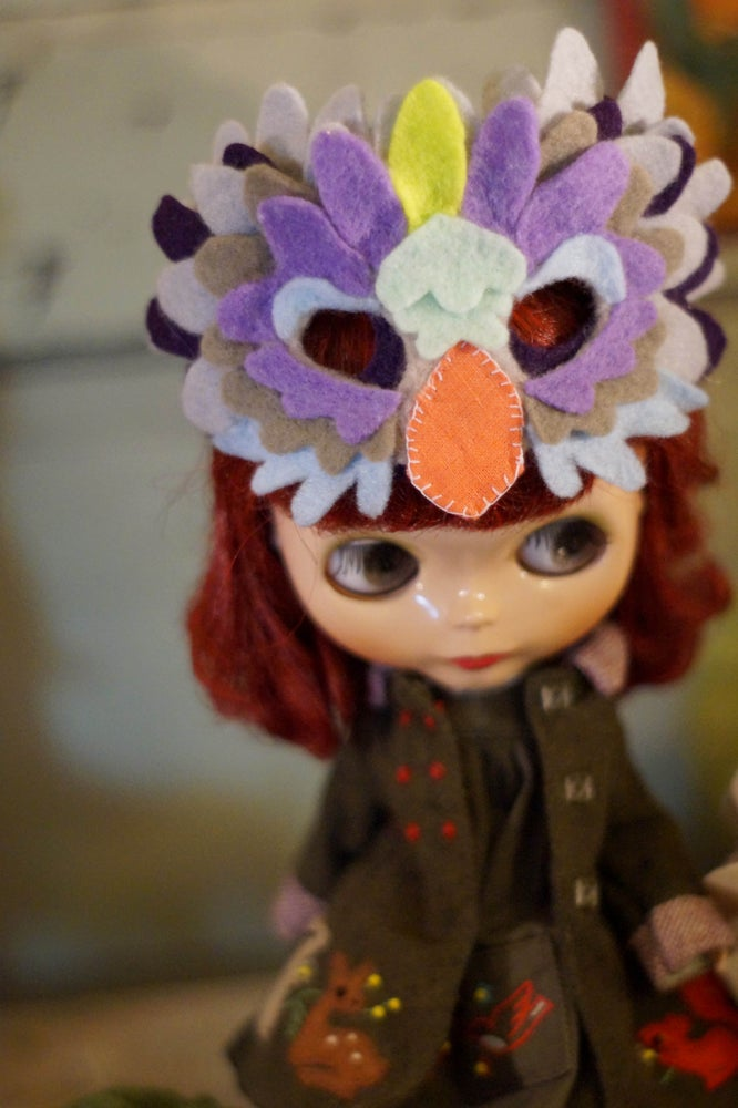 Image of Owl Mask by Rhodora Jacob : Date w/ Blythe Aution
