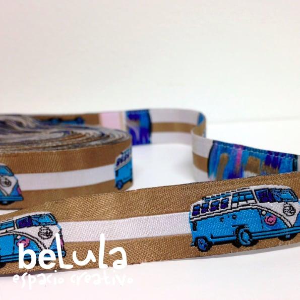 Image of Cinta de tela: mini caravana