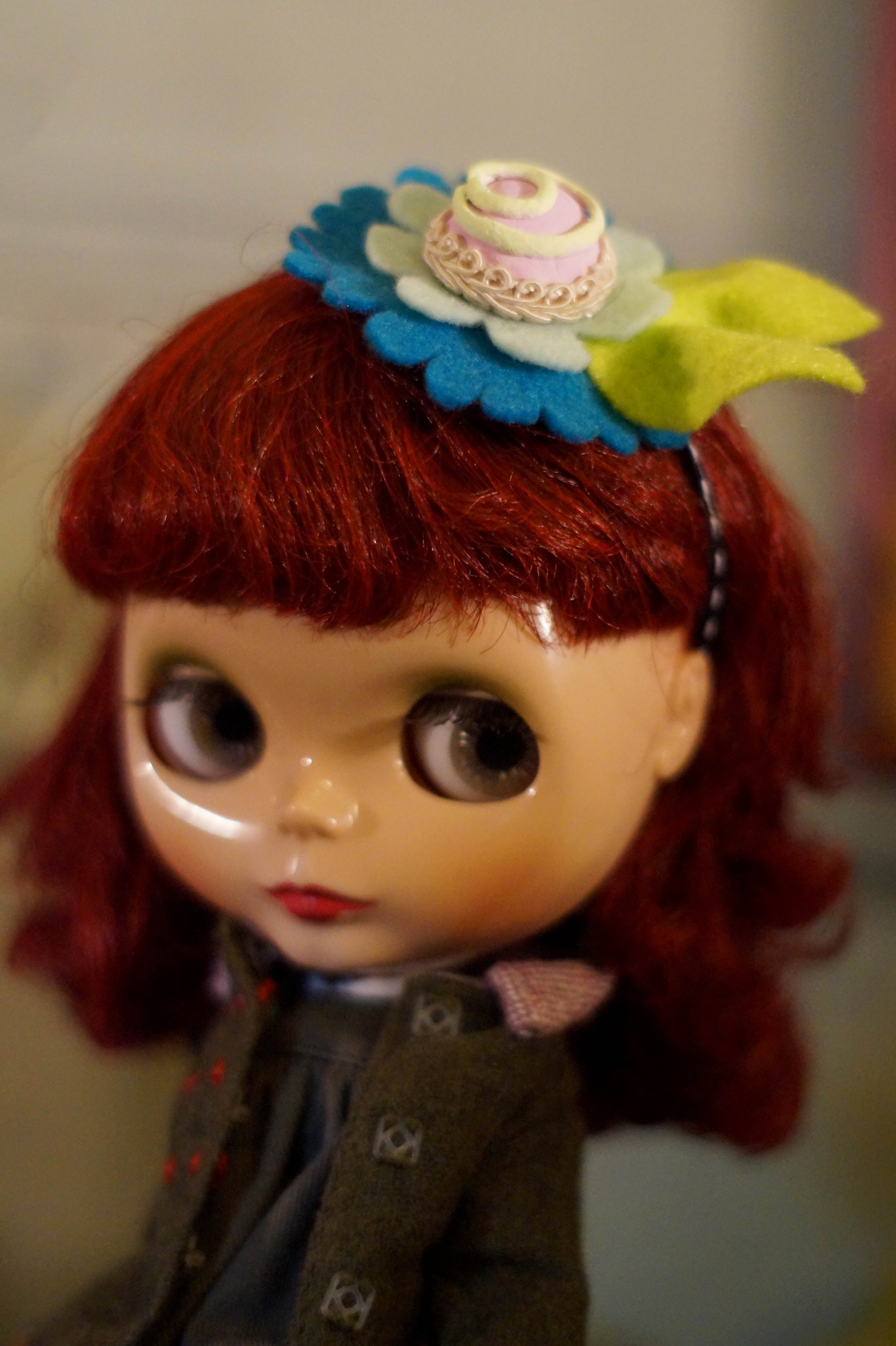 Candy Hat Pink by Rhodora Jacob: Date w/ Blythe Auction