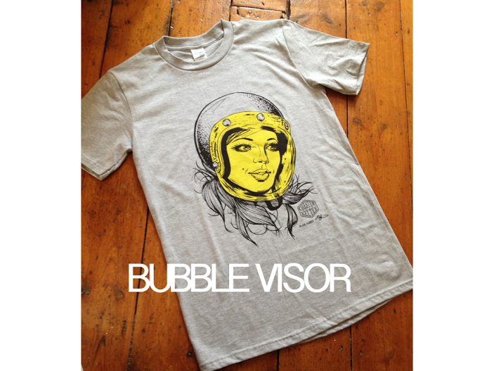 Image of  Bubble Visor T-shirt