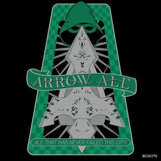 Image of Arrow Ale Sticker