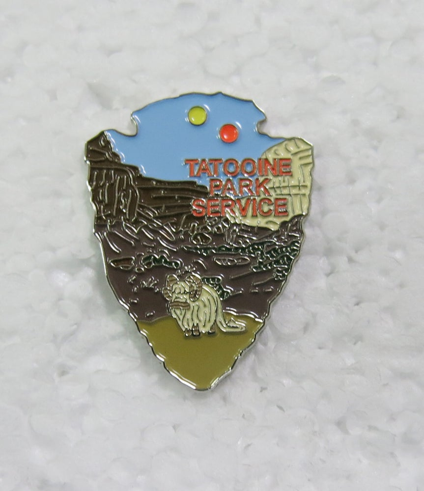 Image of Tatooine Park Service Series #3 Lapel Pin