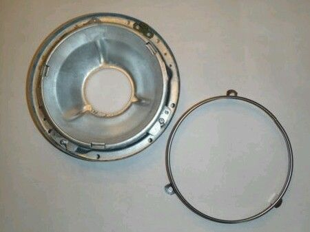 Image of 7 inch Touring Headlight/ Bucket Assembly/Trim Ring for FXRT Kit