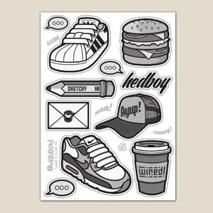 Image of Things & Stuff #1 - Sticker Sheet!