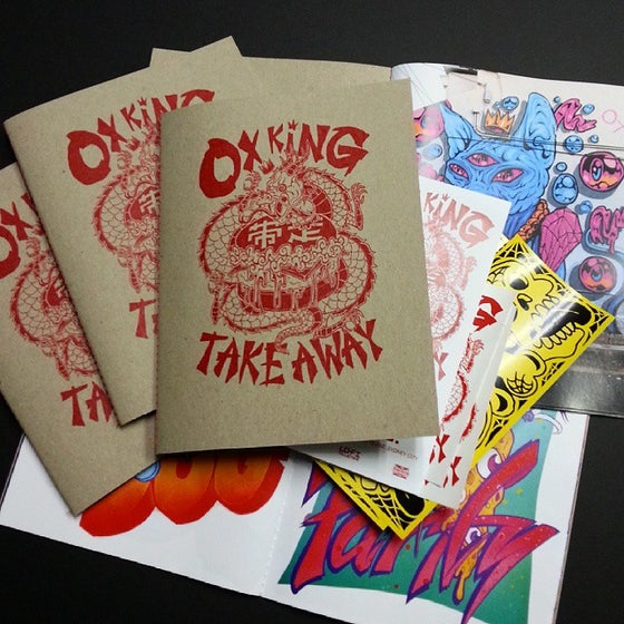 Image of OX KING TAKEAWAY zine