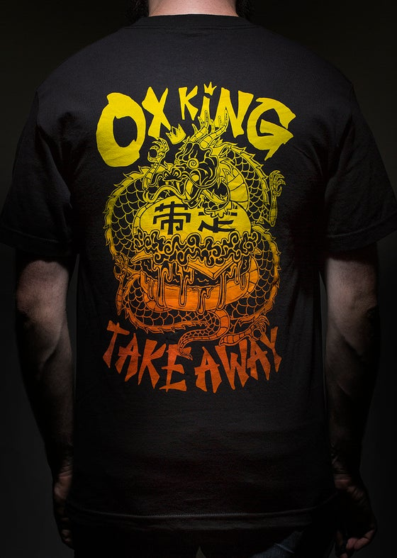 Image of OXKING TAKEAWAY Black tee