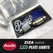 Image of PROJECT:B5 - B5/C5 Audi Ziza LED Plate Lights