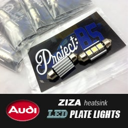 Image of PROJECT:B5 - B5/C5 Audi Ziza LED Plate Lights