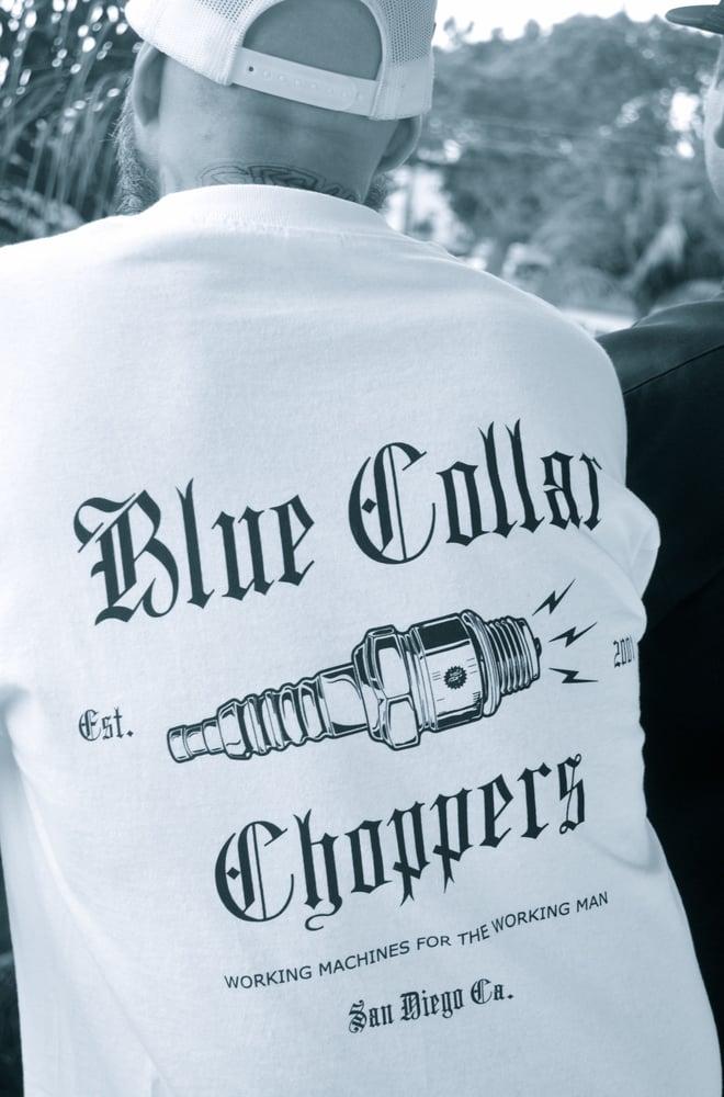 Image of Plug Logo T-Shirt (White)
