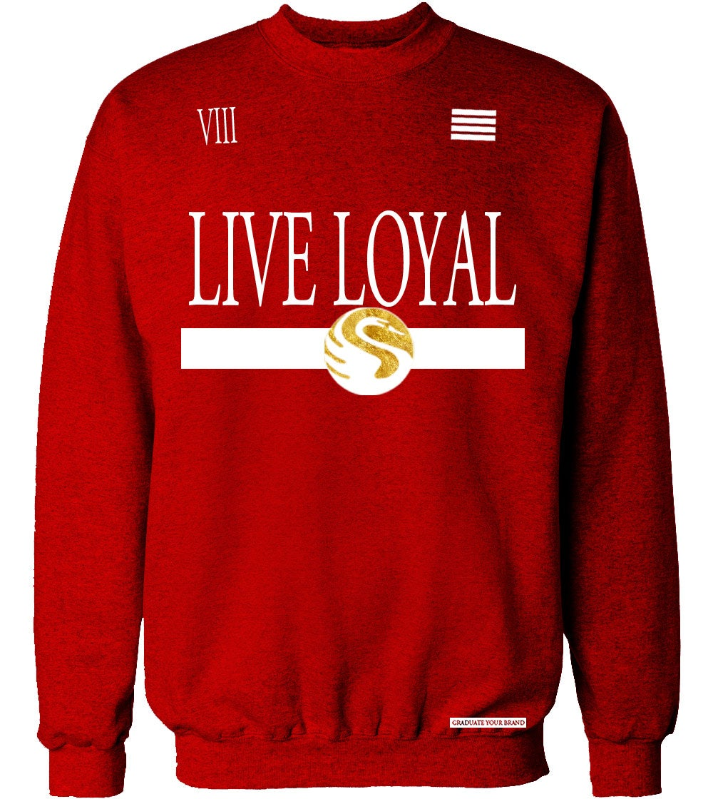 Image of Live Loyal Crew Neck Sweater