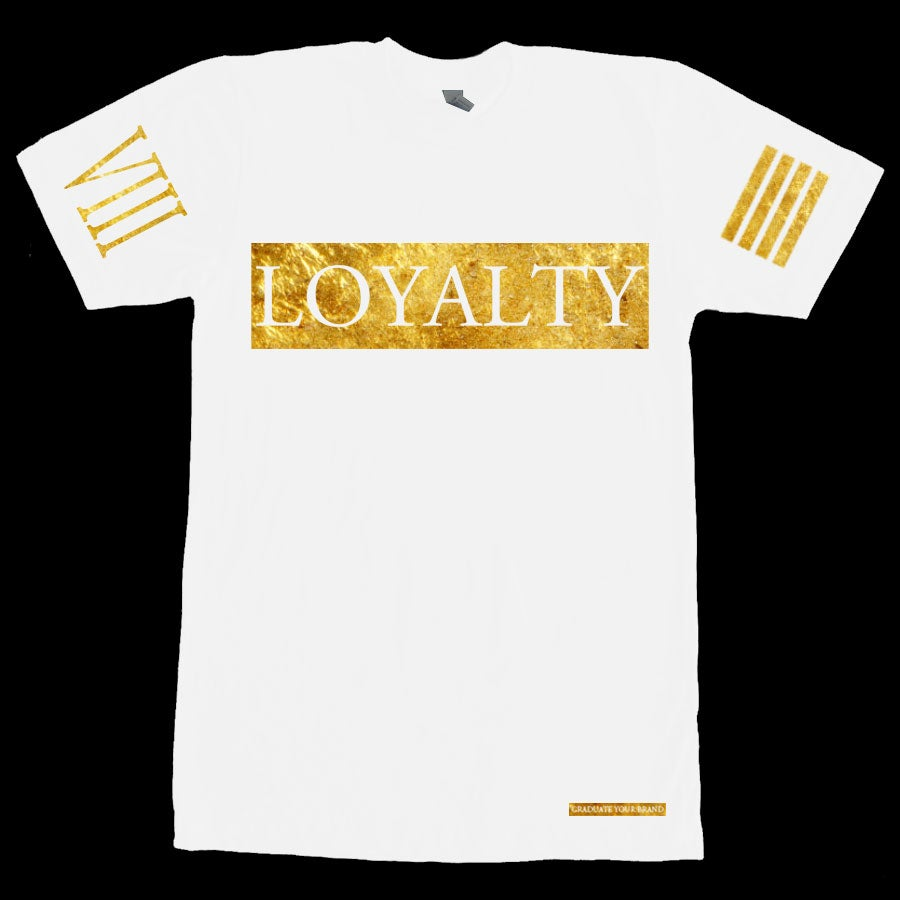 Image of Loyalty Bar Tshirt 24k