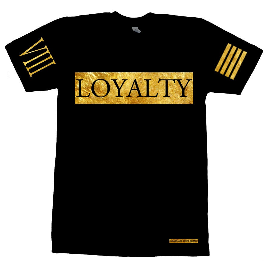 Image of Loyalty Bar Tshirt 24k
