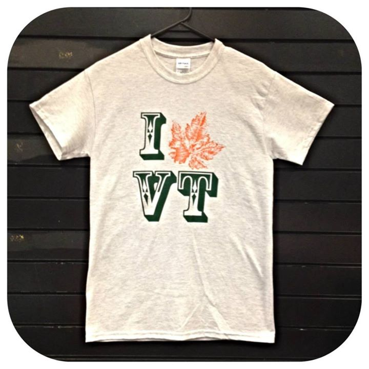 Image of I love Vermont Maple Syrup T-Shirt