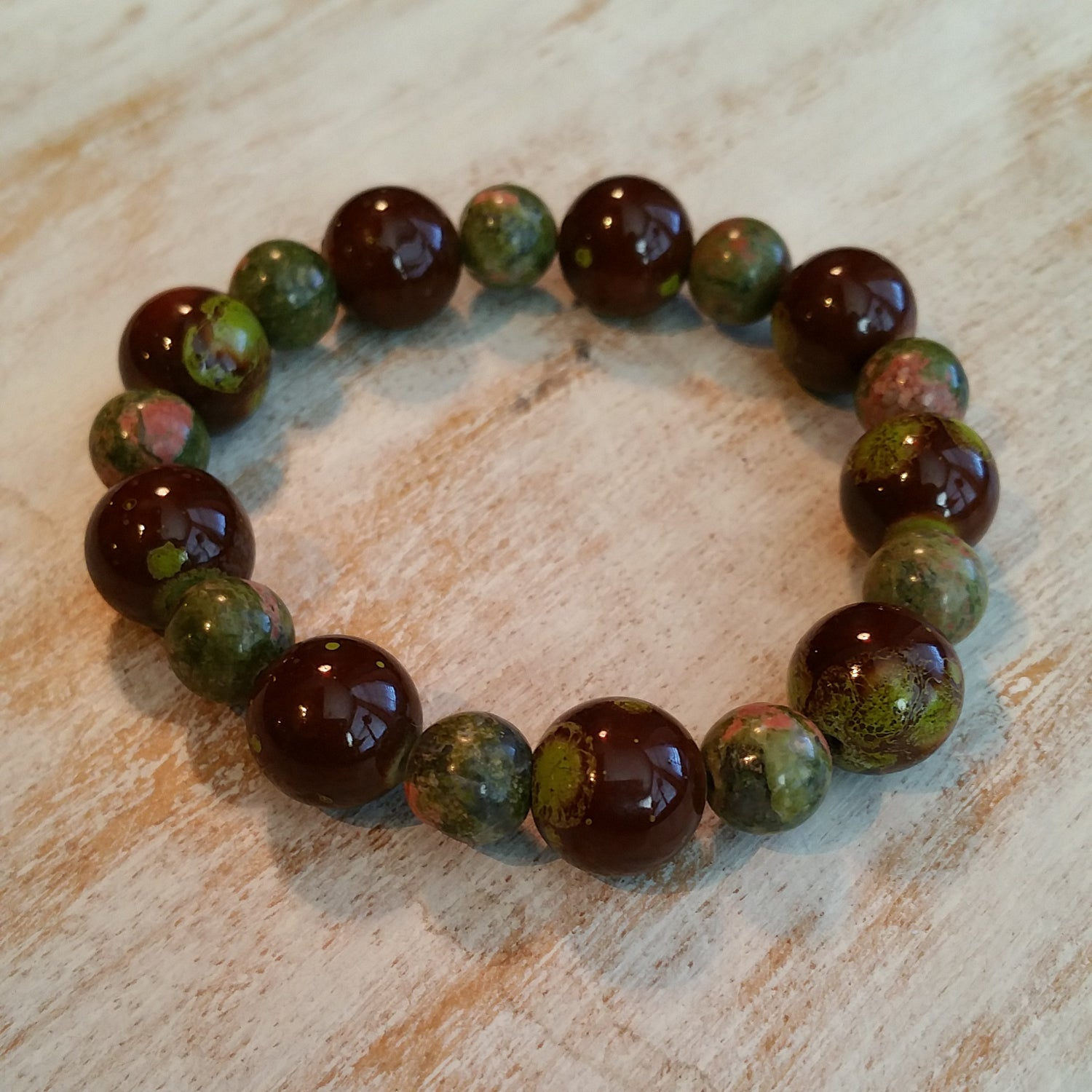 Image of FOREVER GREEN BRACELET
