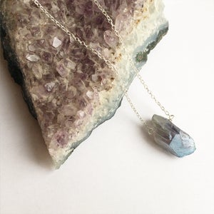 Image of Dreama Pendant - Amethyst + Sterling Silver