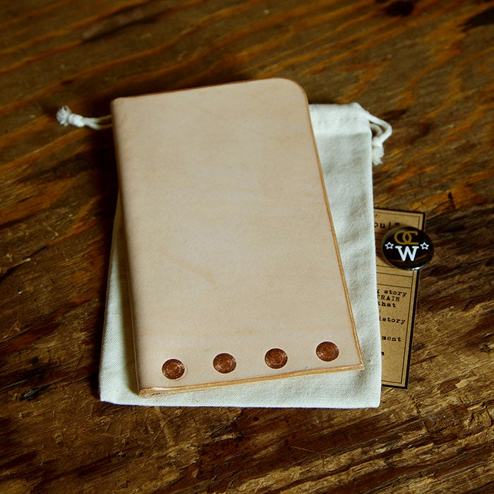 Image of Field Notes Leather Rivet Sheath