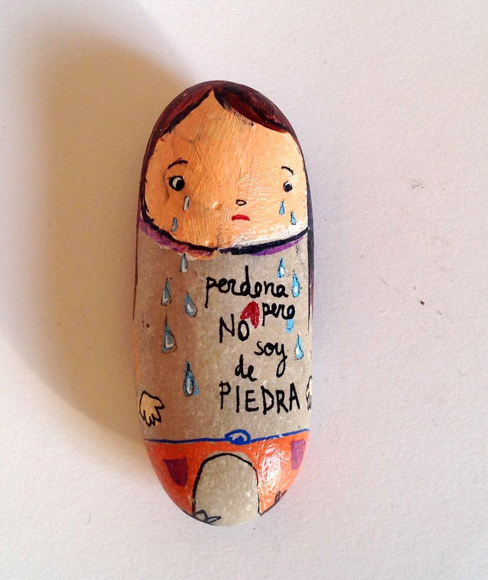 Image of PERDÓN, PERO NO SOY DE PIEDRA