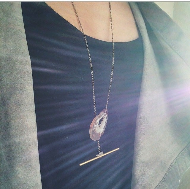 Image of OCTOBER SKY // NECKLACE