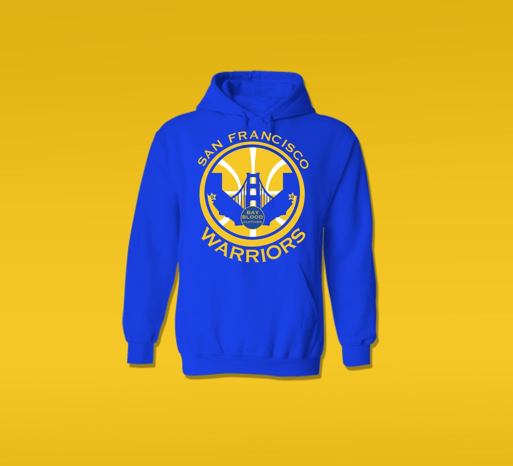 Image of SF WARRIORS HOODIE (royal blue)
