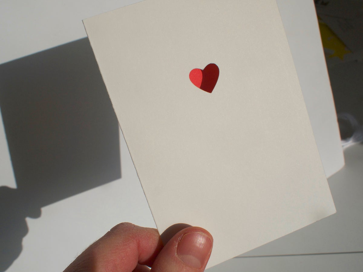 Image of 2 x Heart Cards