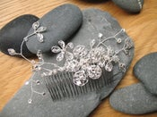 Image of Vintage style diamante comb