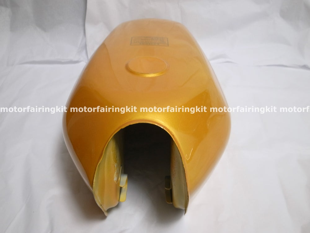Image of Cafe Racer Honda CG125 Fuel Tank/ Gas Tank Golden CG Series