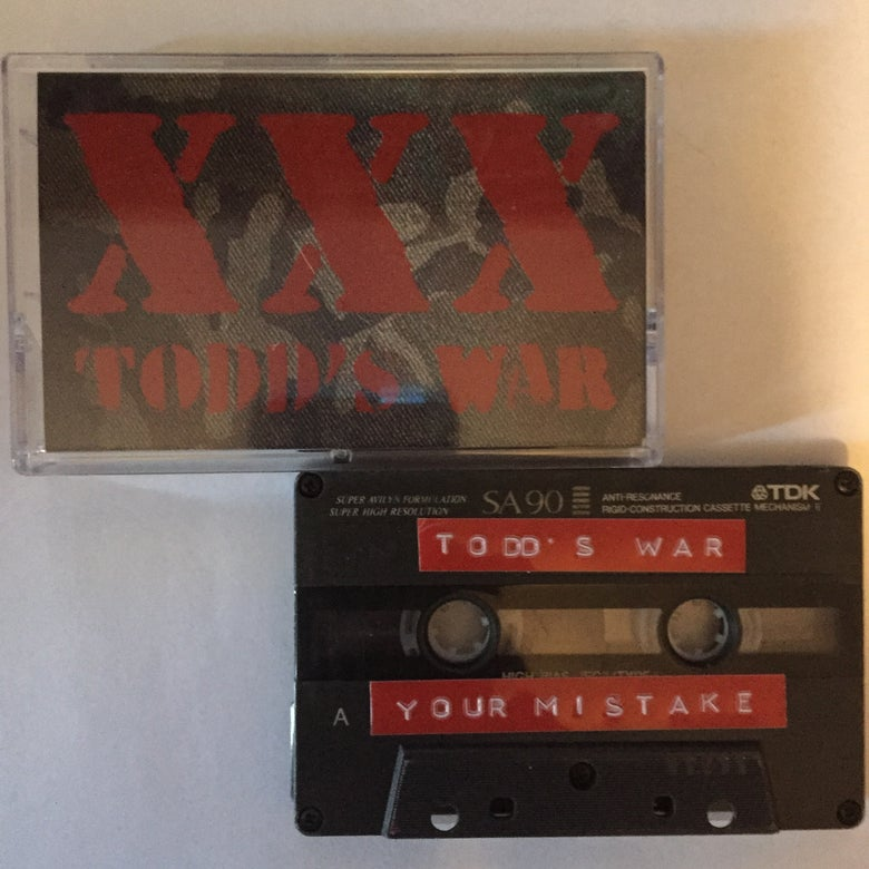 Image of Todd's War Demo Tape