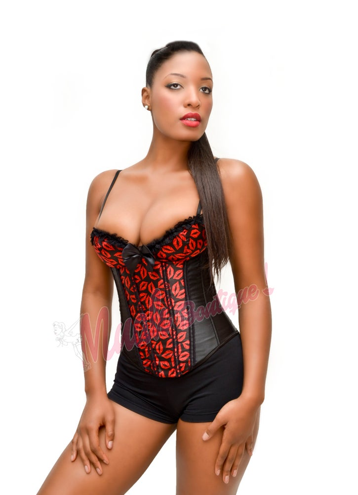 Image of Sexy lips Corset