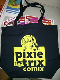 Image of Pixie Trix Comix - tote bag