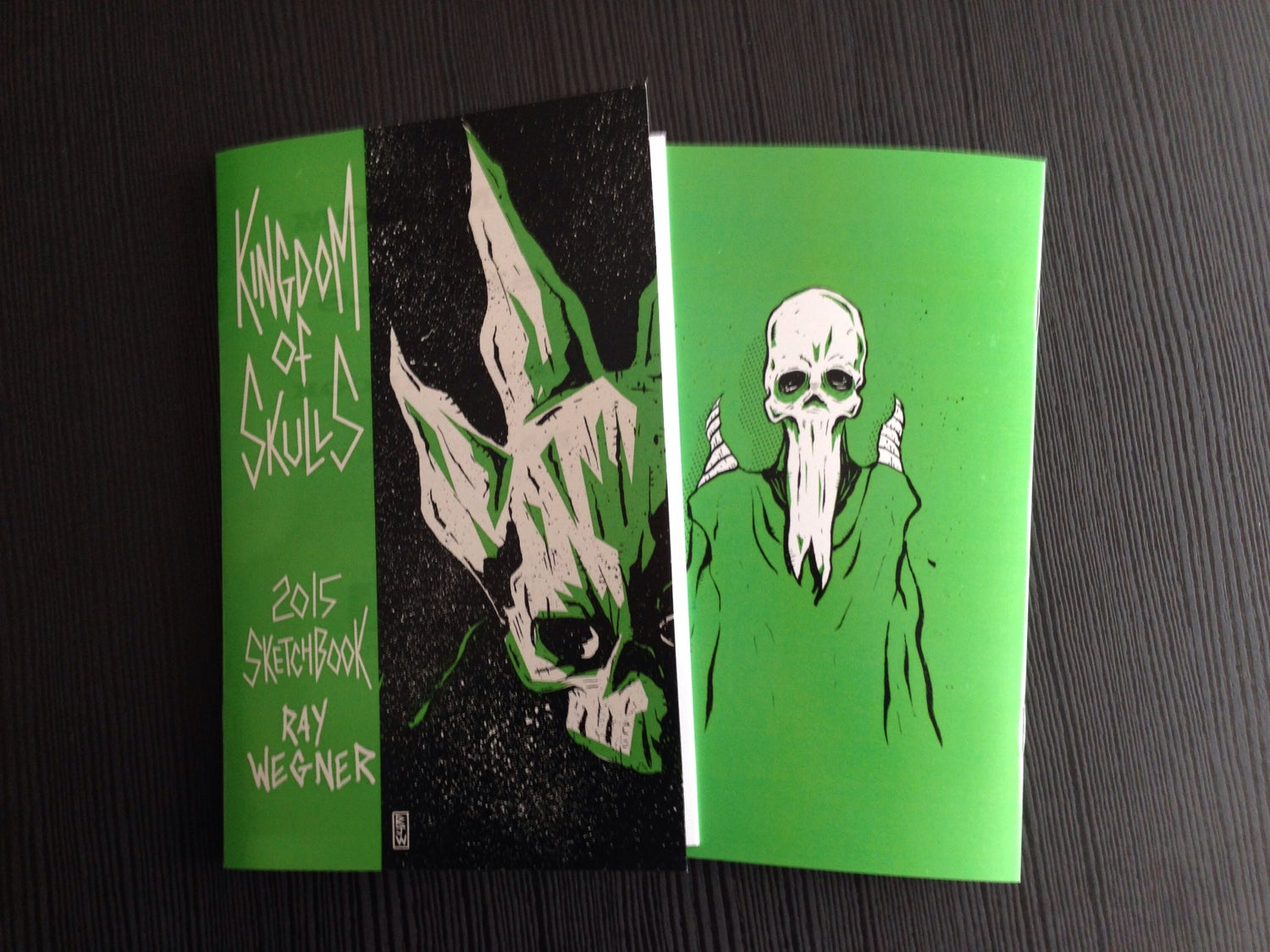 Image of Kingdom of Skulls 2015 Sketchbook