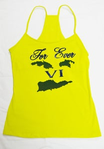 Image of Forever VI Women's Tank (Yellow)